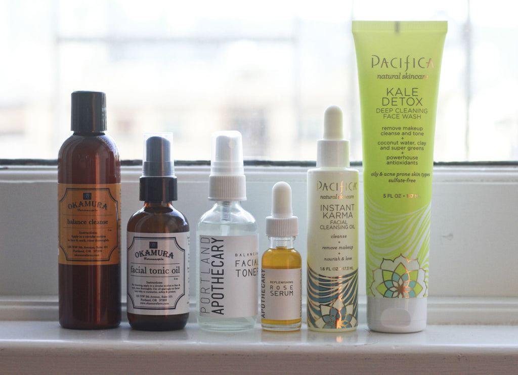 Balance Cleanse + Facial Tonic Oil Featured in Portland Monthly