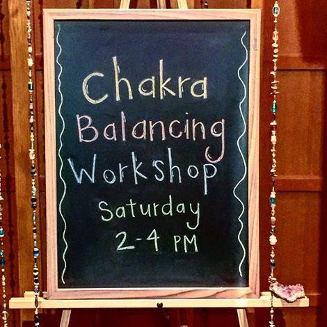 Next Chakra Energy Balancing Clinic at Urbaca
