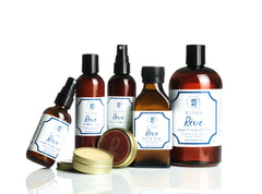 bottles of Reve products