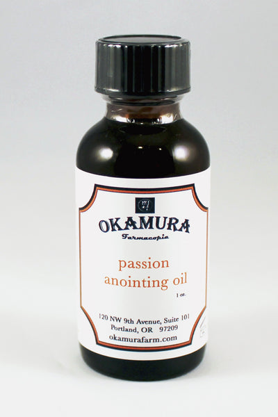 Passion Anointing Oil 1 oz. - Okamura Farmacopia