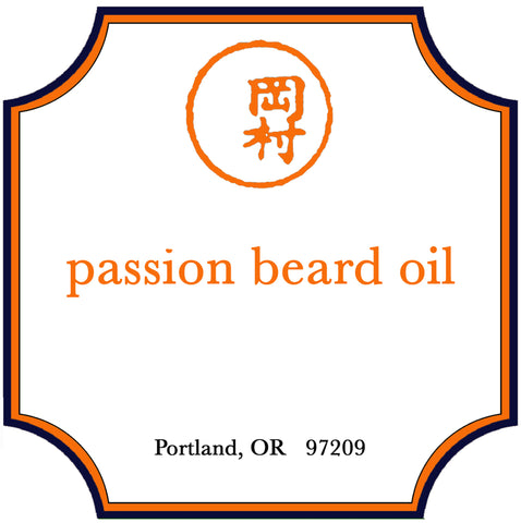 Passion Beard Oil