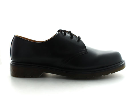 Dr. Martens 1461 in Black Leather outer view