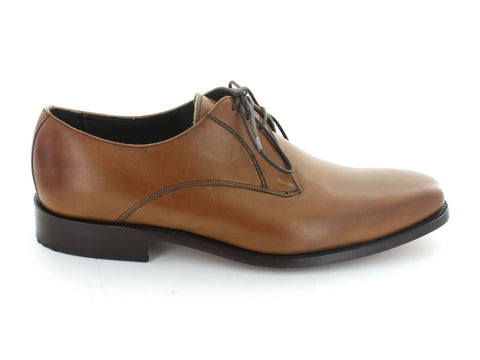 Barker Eton in Brown Leather outer view