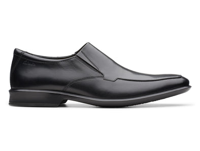 Clarks Bensley Step black outer view