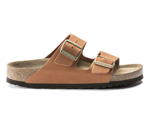 Birkenstock Arizona in Pecan outer view
