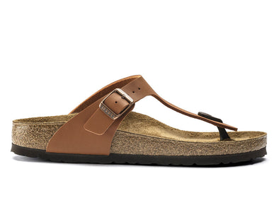 Birkenstock Gizeh in Ginger Brown outer view