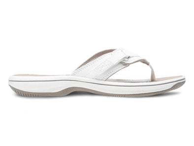 Clarks Brinkley Sea white outer view