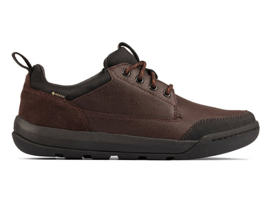 Clarks AshcombeLoGTX  in Brown Leather outer view