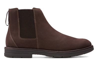 Clarks Banning Limit in Dark Brown outer view