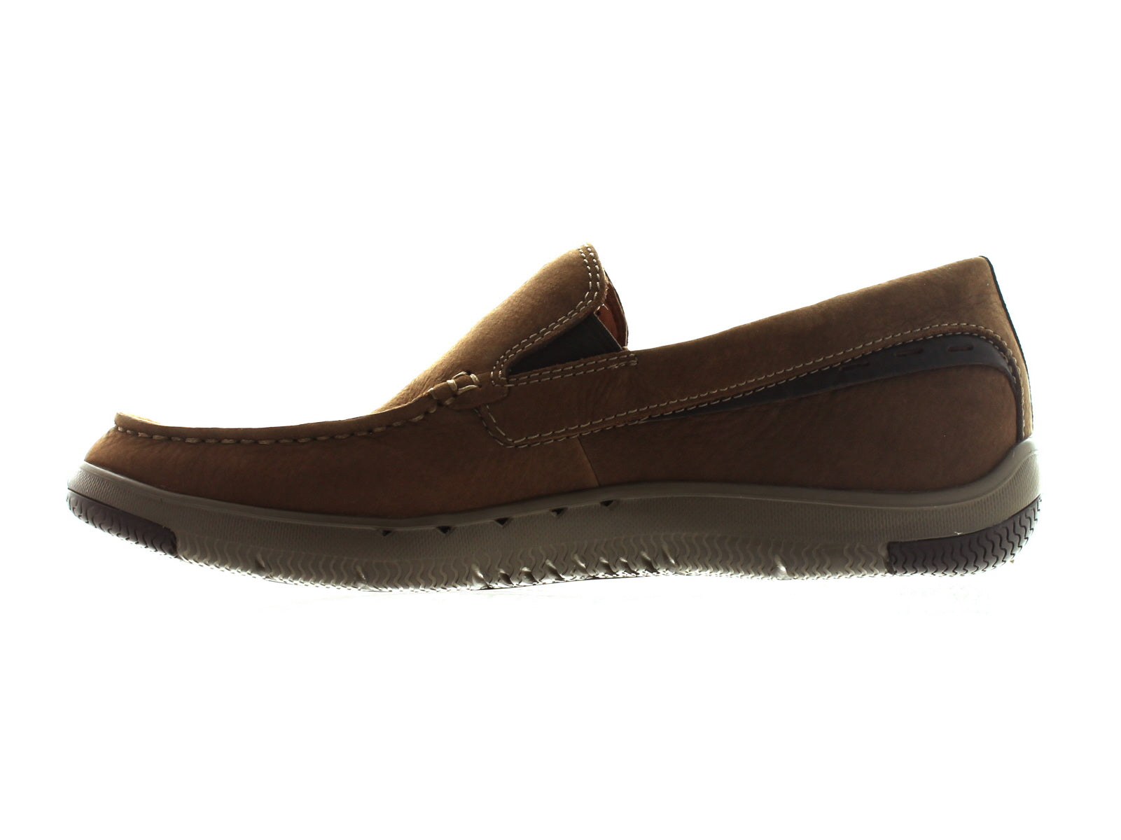 Clarks Ormand Sail in light brown inner view