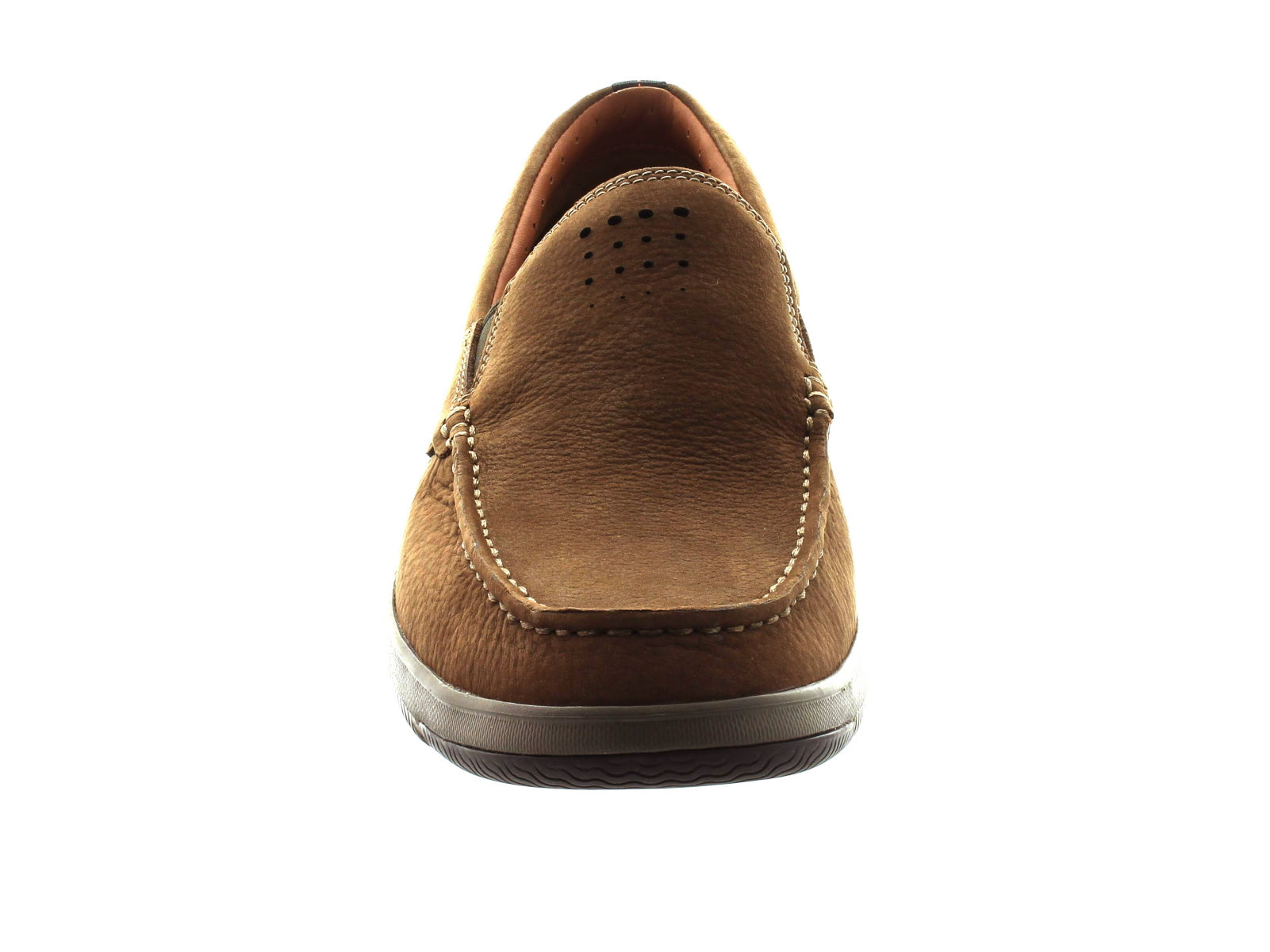 Clarks Ormand Sail in light brown front view