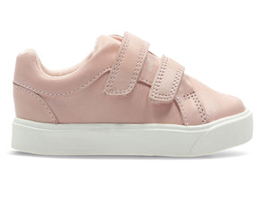 Clarks City Oasis T Infant in Pink outer view