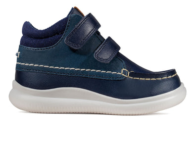Clarks Crest Tuktu T  in Navy outer view