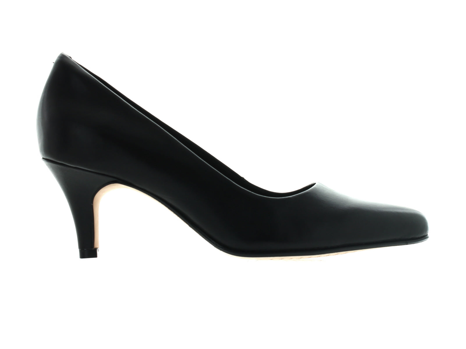 Clarks Isidora Faye Black Leather – Walsh Brothers Shoes