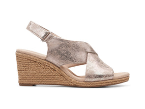 Clarks Lafley Alaine Pewter outer view