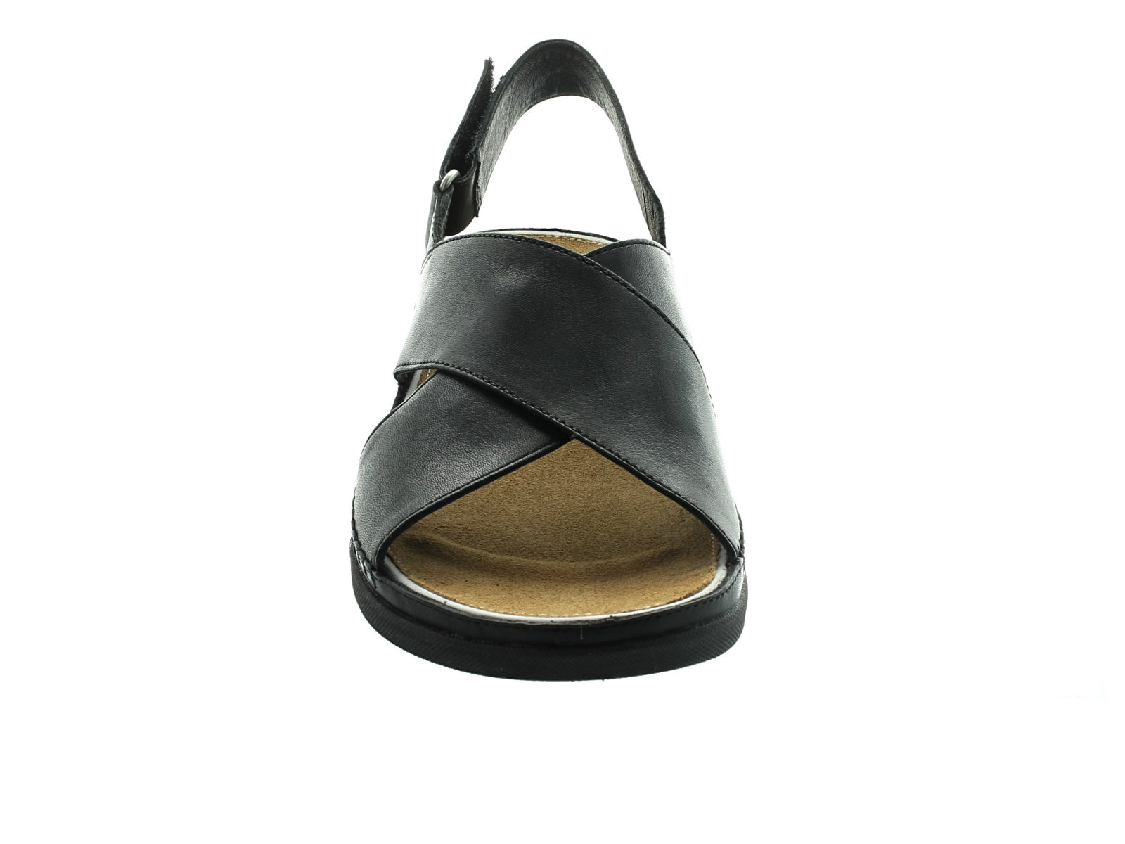 Clarks Tri Alexia in Black Leather front view