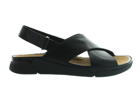 Clarks Tri Alexia in Black Leather outer view