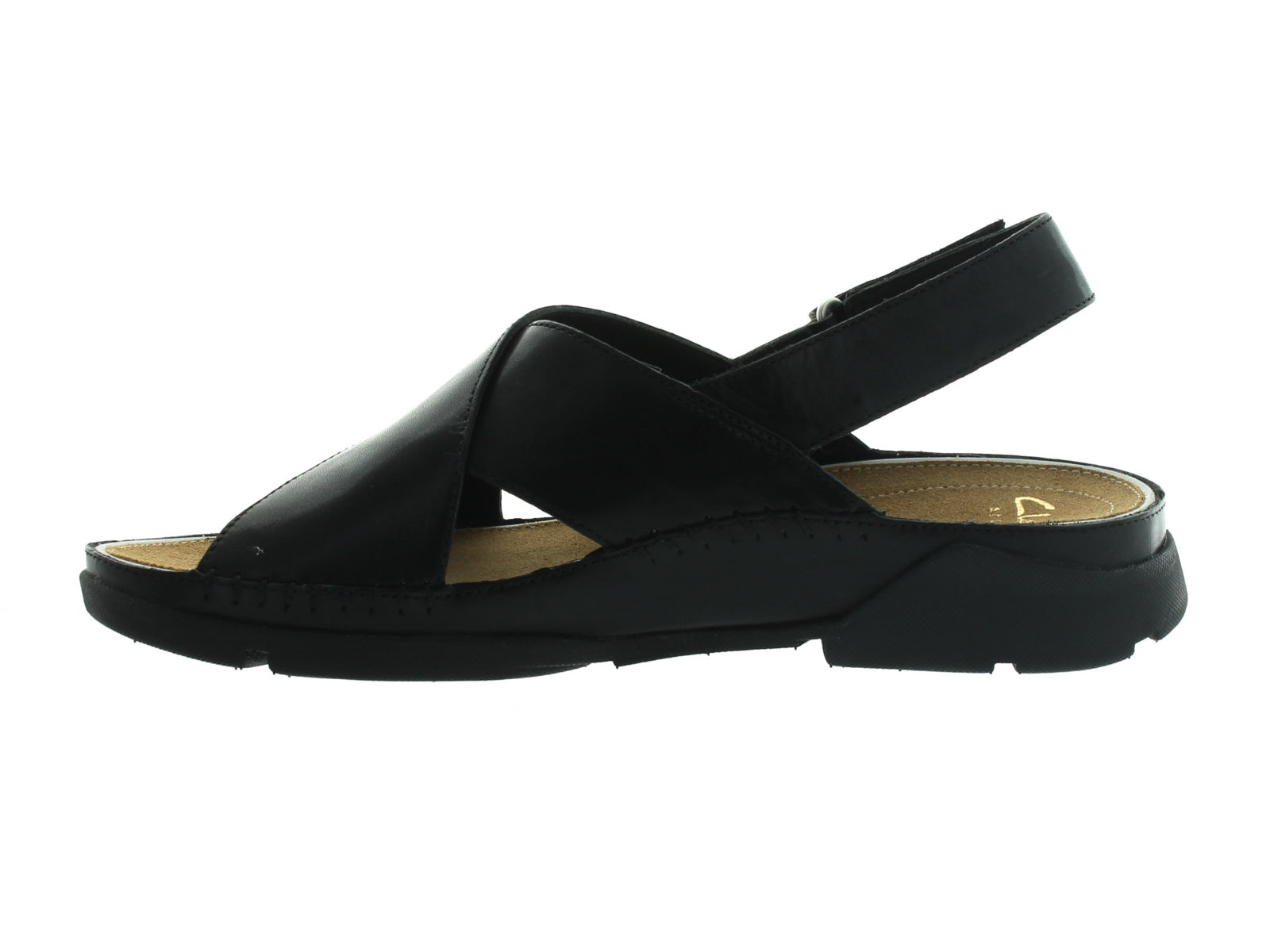 Clarks Tri Alexia in Black Leather inner view