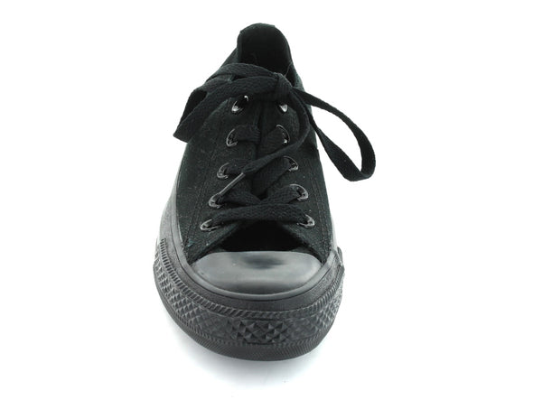 Converse All Star Ox in Black Mono front view