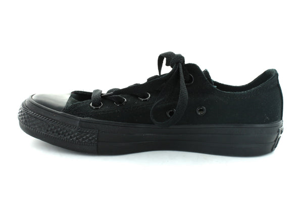 Converse All Star Ox in Black Mono inner view