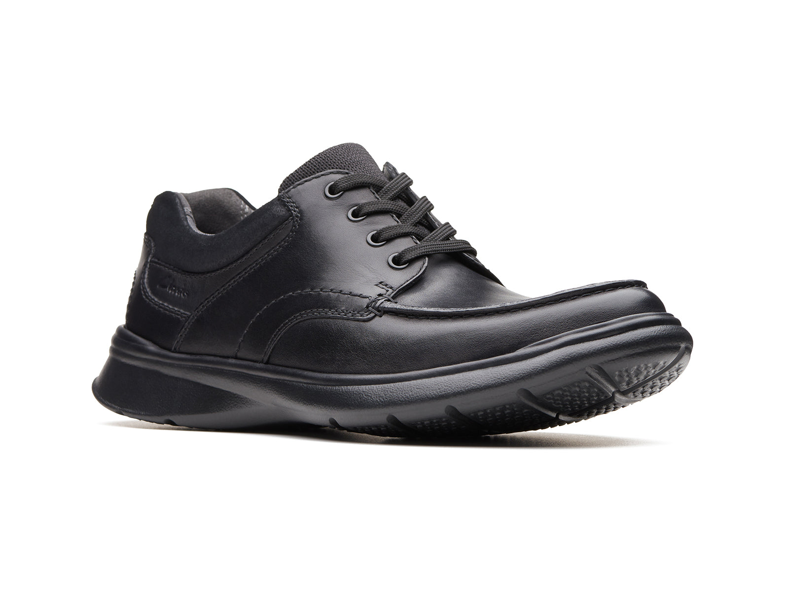 Clarks Cotrell Edge | Black Smooth