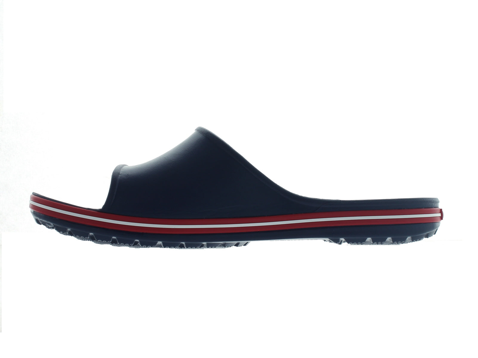 Crocband 11 Slide in Navy inner view