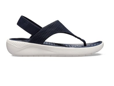 Crocs Literide Mesh Flip in Navy outer view