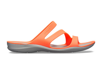 Crocs Swiftwater Sandals W in Bright Coral outer view