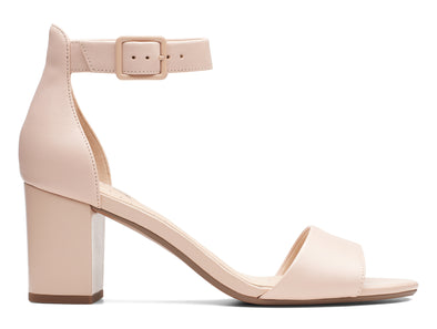 Clarks Deva Mae in Blush outer view