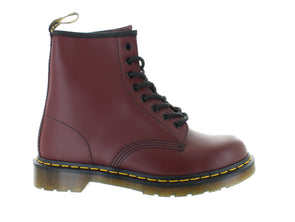 Dr. Martens 1460 cherry red outer view