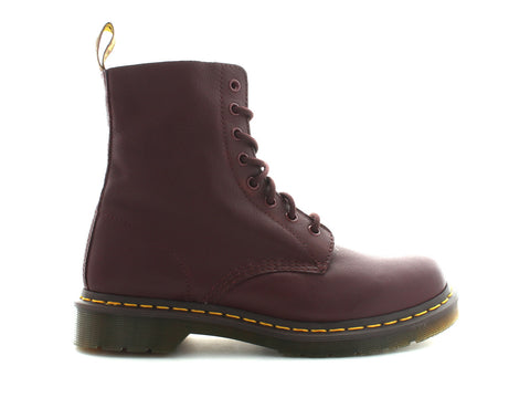 Dr. Martens 1351 Pascal in Cherry Red Leather outer view