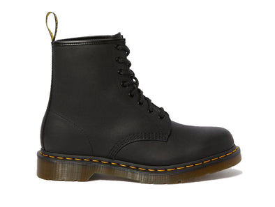 Dr Martens 1460 Greasy in Black outer view