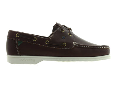Dubarry Admirals in Brown Leather outer view