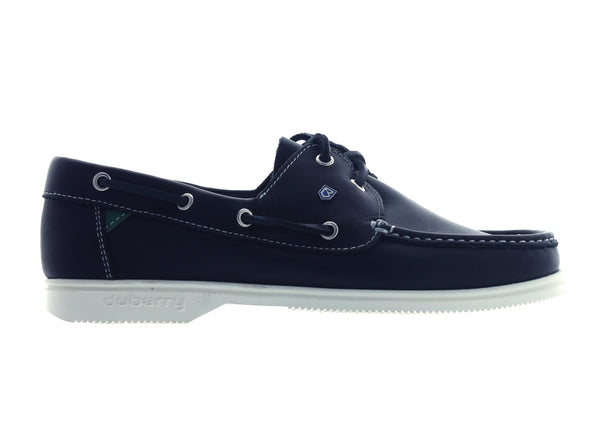 Dubarry Admirals in Navy Leather outer view