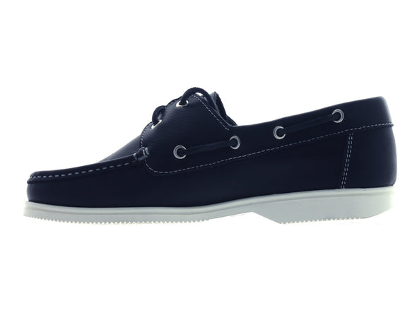 Dubarry Admirals in Navy Leather inner view