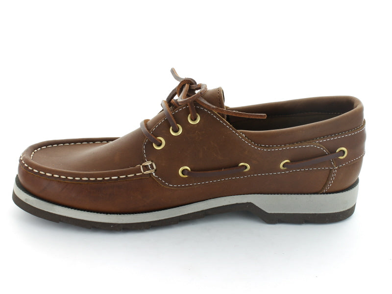 Dubarry Commander in Brown Leather inner view