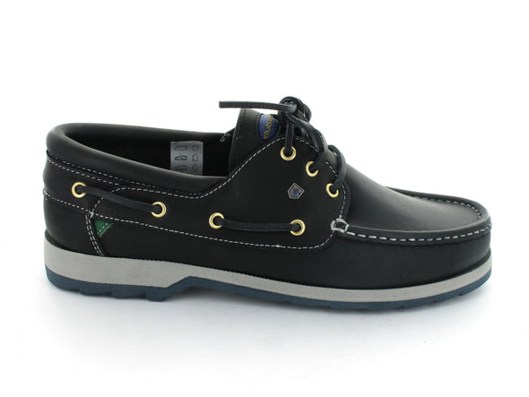 Dubarry Commander in Navy Leather outer view