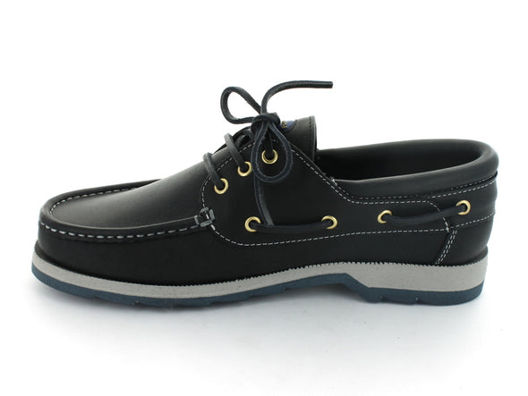 Dubarry Commander in Navy Leather inner view