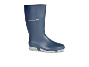 Dunlop Ladies Wellies in Navy outer view