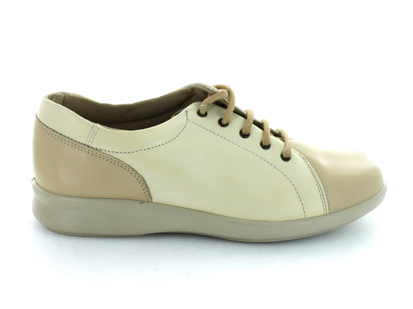 DB Easy B Phoebe in Beige Leather outer view