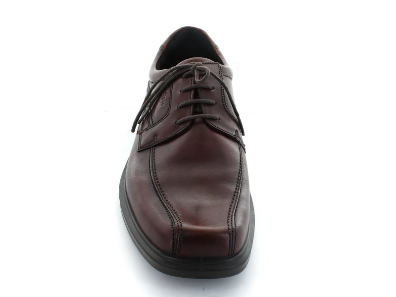 Ecco Helsinki 050104 Formal Shoe in Cocoa Brown Leather front view
