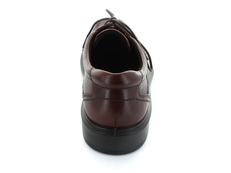 Ecco Helsinki 050104 Formal Shoe in Cocoa Brown Leather back view