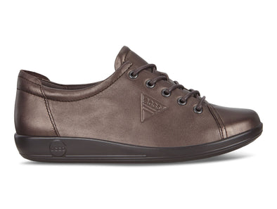 Ecco Soft 2.0 206503 in Shale Metallic outer view