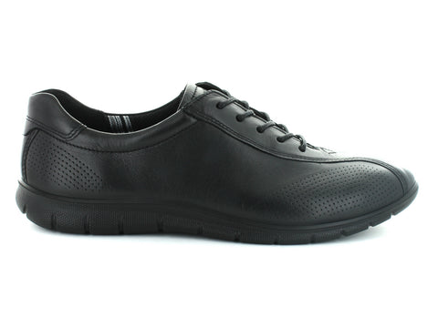 Ecco 210203 in Black Leather outer view