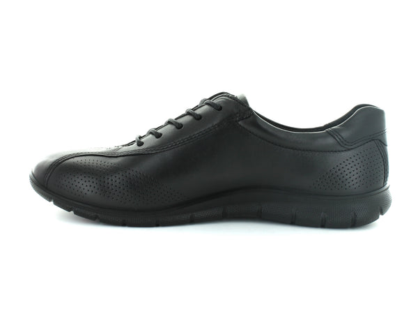 Ecco 210203 in Black Leather inner view