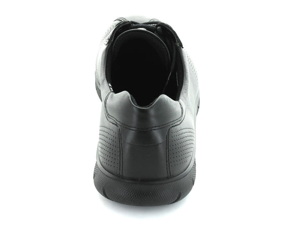Ecco 210203 in Black Leather back view