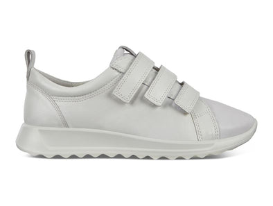 Ecco Flexure Runner W White outer view