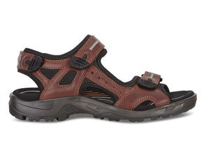 Ecco Mens Offroad Sandal 822094 brandy outer view