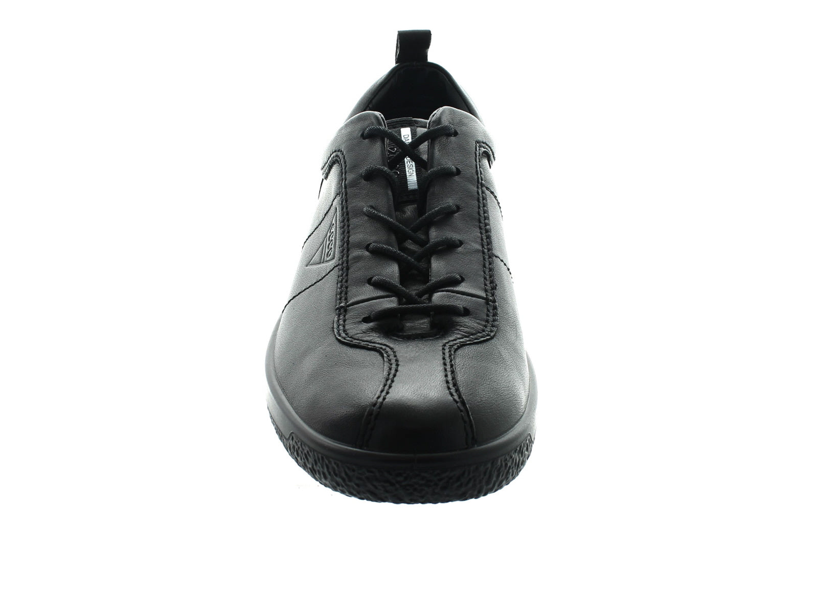 Ecco Soft 1 400503 in Black front view