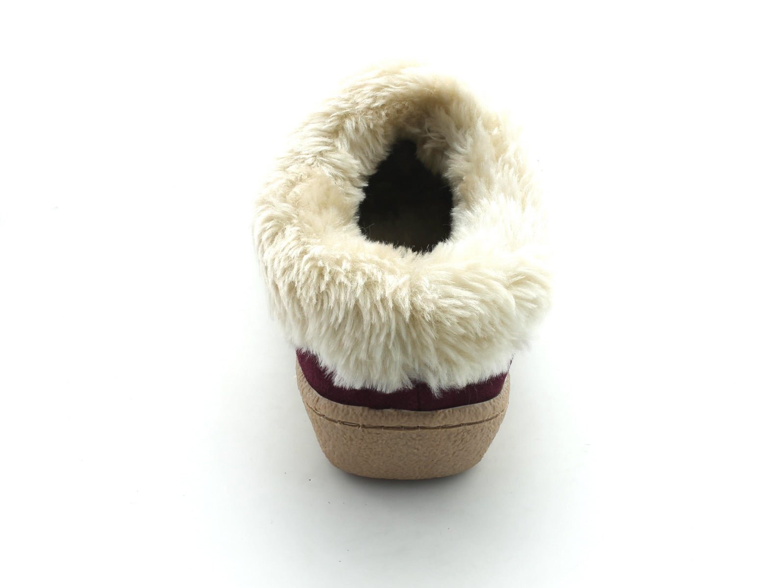 Clarks Eskimo Snow in Berry Suede back view